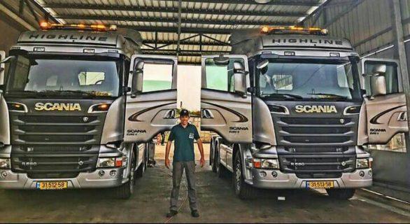 פרויקט דיגום משאיות של ארגון גדול