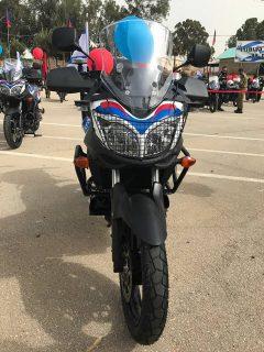 FEDERAL SIGNAL על אופנוע משטרת ישראל