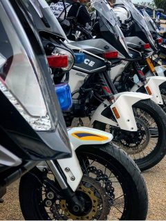 דיגום אופנועים של רשות עירונית